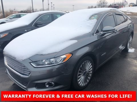 Pre-Owned 2014 Ford Fusion Hybrid Titanium