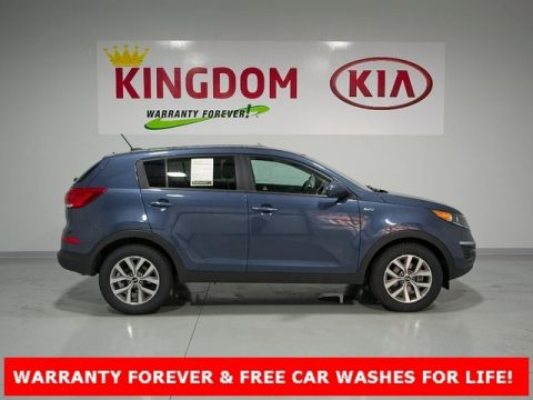 Superb Pre Owned 2016 Kia Sportage LX
